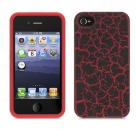 Griifin Outfit Crackle iPhone 4(S) Rood