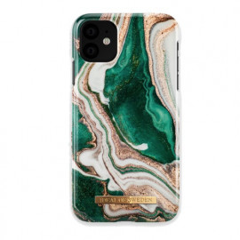 Ideal of Sweden Fashion Case iPhone 11 Golden Jade Marble