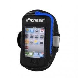 iFitness Sportarmband Large Zwart & Blauw