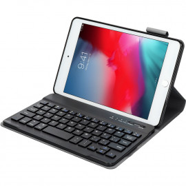 Mobiparts Bluetooth Keyboard Case Apple iPad Mini (2019) Zwart