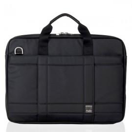 """Knomo Lincoln briefcase 15"""" zwart"""