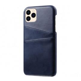 Casecentive Leren Wallet back case iPhone 12 Mini blue