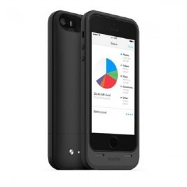 Mophie space Pack 32 GB iPhone 5(S) zwart