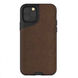 Mous Contour Leather iPhone 11 Pro bruin