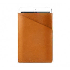 "Mujjo Slim Fit Leather Sleeve iPad Air 1 / 2 / Pro 9.7"" tan"