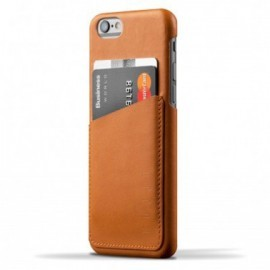 Mujjo wallet leren case iPhone 6 bruin