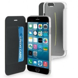 Muvit Easy Folio Card  Crystal case iPhone 6(S) wit