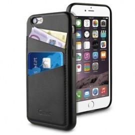 Muvit Leatherette Back Case iPhone 6(S) zwart