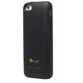 Muvit Power case iPhone 5(S)/SE zwart (2000mAh)