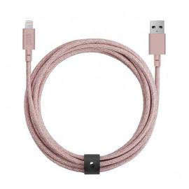 Native Union Kevlar Belt Lightning kabel 3m roze