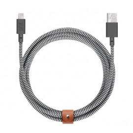 Native Union Kevlar Belt Lightning kabel 3m zebra