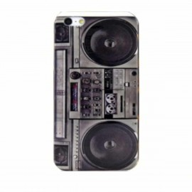 Retro radio case iPhone 5(S)/SE