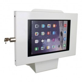 Tablet muurstandaard Securo Kiosk iPad en Galaxy Tab wit