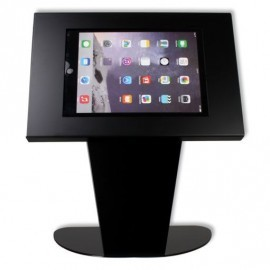 Tablet tafelstandaard Securo Kiosk iPad en Galaxy Tab 9.7 Inch zwart