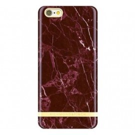 Richmond and Finch Marble Glossy iPhone 7 rood