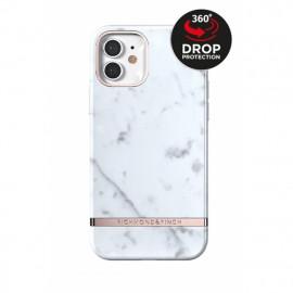 Richmond & Finch Freedom Series iPhone 12 Mini White Marble