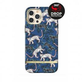 Richmond & Finch Freedom Series iPhone 12 Pro Max Blue Leopard