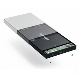 Satechi Aluminium Type-C HDD/ SSD-behuizing space grey