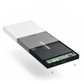 Satechi Aluminium Type-C HDD/ SSD-behuizing zilver