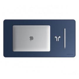 Satechi Eco Leather Desk Mat blauw