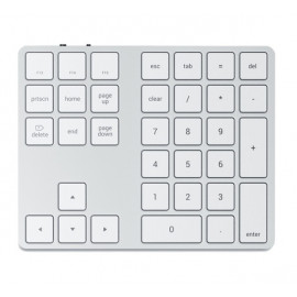 Satechi Extended Wireless Keypad zilver