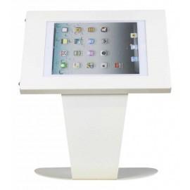 Tablet tafelstandaard Securo Kiosk iPad en Galaxy Tab 9.7 Inch wit