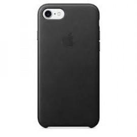 Apple iPhone 7 / 8 lederen hoes zwart