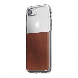 Nomad Clear Case iPhone 7 / 8 Plus bruin