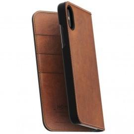 Nomad Leather Folio Case iPhone X / XS bruin