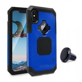 Rokform Rugged case iPhone X / XS blauw