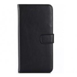 Casecentive Leren Wallet Protective Case iPhone X / XS zwart