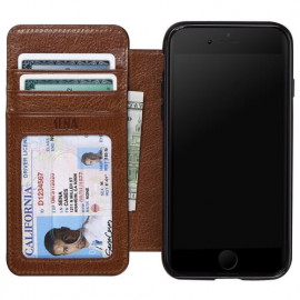 Sena Heritage Wallet case iPhone 8 / 7/ SE 2020 Cognac