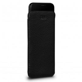 Sena UltraSlim leather Sleeve for iPhone XR zwart