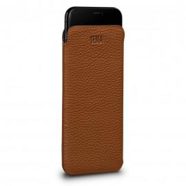 Sena UltraSlim Leather Sleeve for iPhone XS Max bruin