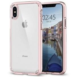 Spigen Ultra Hybrid Case iPhone X roze