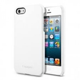 Spigen Leather Grip iPhone 5(S)/SE wit