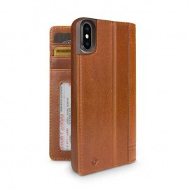 Twelve South Journal iPhone X Cognac