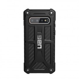 UAG Hard Case Galaxy S10 Monarch carbon zwart