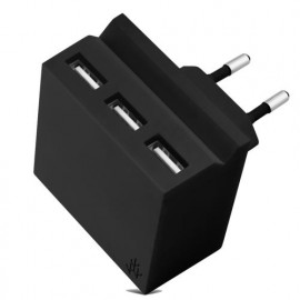 usbepower HIDE Mini 3-in-1 wall charger zwart