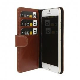 Valenta Booklet wallet case classic iPhone 6(S) bruin