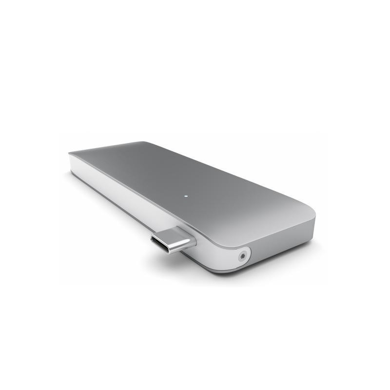 Satechi USB C 3.0 3 in 1 Hub Space grey