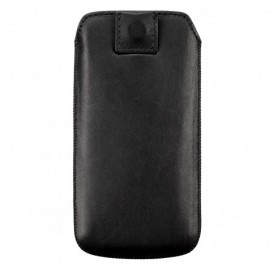 Leather Pouch iPhone 5 / 5S Black