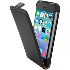 Mobiparts Essential Flip Case iPhone 5 / 5S Black