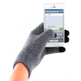 Mobiparts Touchscreen Handschoenen Grijs L