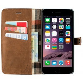 iMoshion Moyland Wallet Case iPhone 6 Plus / 6S Plus Brown