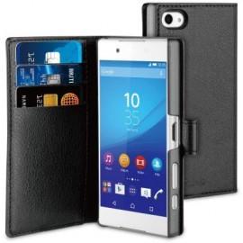 Muvit Wallet Case Xperia Z5 Compact Black