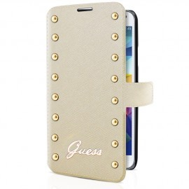 Guess Studded Galaxy S5 Folio Case Cream