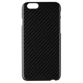 Xqisit iPlate Carbon iPhone 6 / 6S Black