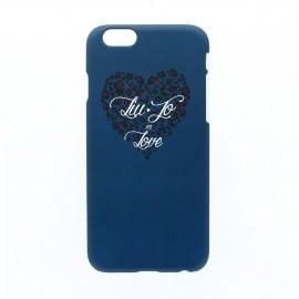 Heart iPhone 6 / 6S Hardcase Blue