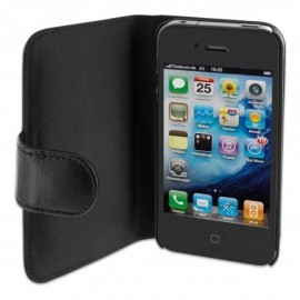 SeeJacket Leather iPhone 4 / 4S Black
